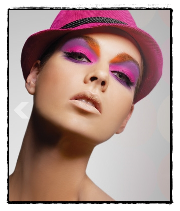 Candy Coloured Eyes….Thankyou Napoleon Perdis….
