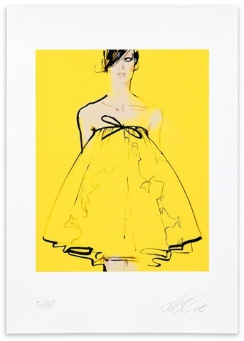 Arty yellow...in vogue
