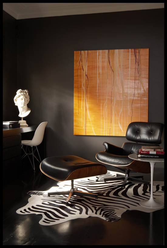 Masculine Eames with Zebra