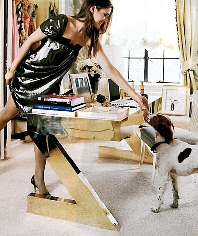 A Desk is Just a desk..Unless you are Aerin Lauder