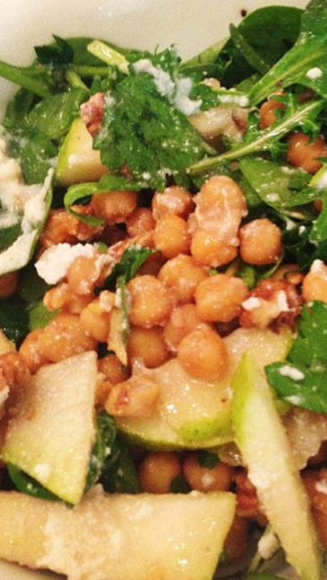 Filter: None Chickpea and Rocket Salad