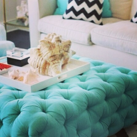 Filter: Amaro Tiffany Blue Diamond Ottoman