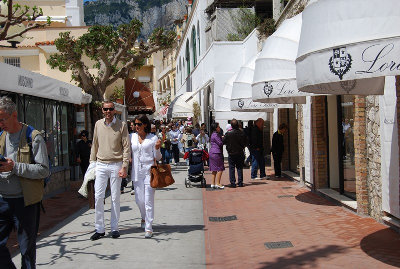 Capri-shopping