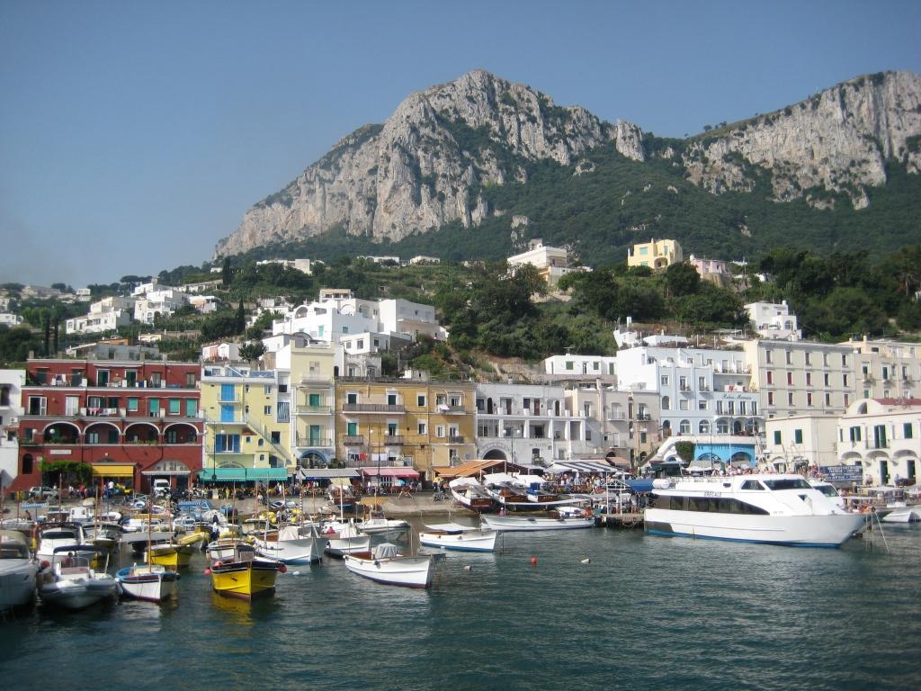 Capri_coastline