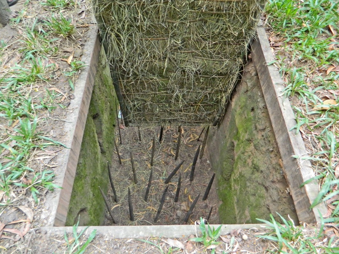 20130101118 Cu Chi Tunnels Trap spikes 1